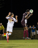 The Winthrop University Eagles played the College of Charleston Cougars at Eagles Field in Rock Hill, SC.  College of Charleston broke the 1-1 tie with a goal in the 88th minute to win 2-1.  Adriano Negri (17), Tanner Clay (5)