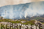 Three Units from the Fire Services( two from Cahersiveen and 1 from Sneem) attended a gorse fire at Lambs Head, Caherdaniel over 5 day period last week after a fire broke out.
