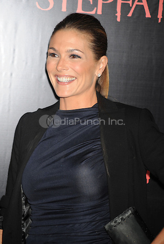 Paige Turco attends the premiere of 'The Stepfather' at the SVA Theater in New York City. October 12, 2009.. Credit: Dennis Van Tine/MediaPunch