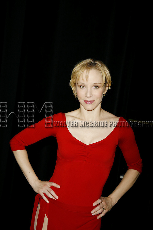 Charlotte d'Amboise  ( Cassie ).Attending the Meet and Greet / Introduction with the  2006 Cast of A CHORUS LINE at the Hudson Theatre in New York City..April 26, 2006.© Walter McBride/WM Photography