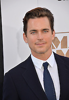 Matt Bomer at the world premiere of his movie &quot;Magic Mike XXL&quot; at the TCL Chinese Theatre, Hollywood.<br /> June 25, 2015  Los Angeles, CA<br /> Picture: Paul Smith / Featureflash