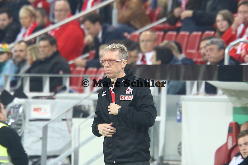 Trainer Peter Stöger (Köln)- 1. FSV Mainz 05 vs. 1. FC Köln, Coface Arena, 2. Runde DFB-Pokal