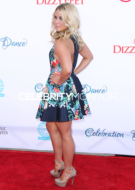 LOS ANGELES, CA, USA - JULY 19: Chelsie Hightower at the 4th Annual Celebration Of Dance Gala Presented By The Dizzy Feet Foundation held at the Dorothy Chandler Pavilion at The Music Center on July 19, 2014 in Los Angeles, California, United States. (Photo by Xavier Collin/Celebrity Monitor)