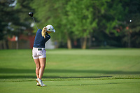 Jodi Ewart Shadoff (ENG) watches her tee shot on 5 during round 4 of the 2018 KPMG Women's PGA Championship, Kemper Lakes Golf Club, at Kildeer, Illinois, USA. 7/1/2018.<br /> Picture: Golffile | Ken Murray<br /> <br /> All photo usage must carry mandatory copyright credit (&copy; Golffile | Ken Murray)