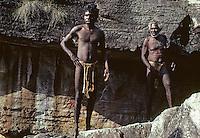 Tribal Aboriginal in Arnhem land, Australia