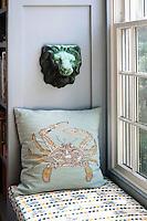 sofa next to the window