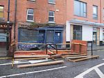 Building damage dyer street