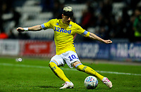 Leeds United's Ezgjan&nbsp;Alioski in action<br /> <br /> Photographer Alex Dodd/CameraSport<br /> <br /> The EFL Sky Bet Championship - Preston North End v Leeds United -Tuesday 9th April 2019 - Deepdale Stadium - Preston<br /> <br /> World Copyright &copy; 2019 CameraSport. All rights reserved. 43 Linden Ave. Countesthorpe. Leicester. England. LE8 5PG - Tel: +44 (0) 116 277 4147 - admin@camerasport.com - www.camerasport.com