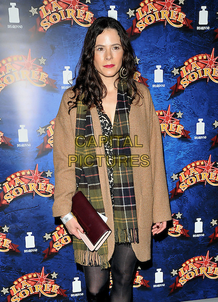 Elaine Cassidy attends the &quot;La Soiree&quot; VIP press night, La Soiree Spiegeltent, Southbank Centre, Belvedere Road, London, England, UK, on Friday 06 November 2015. <br /> CAP/CAN<br /> &copy;Can Nguyen/Capital Pictures