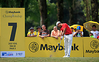 Jorge Campillo (ESP) in action on the 7th during Round 4 of the Maybank Championship at the Saujana Golf and Country Club in Kuala Lumpur on Saturday 4th February 2018.<br /> Picture:  Thos Caffrey / www.golffile.ie<br /> <br /> All photo usage must carry mandatory copyright credit (© Golffile | Thos Caffrey)