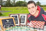 THREE IN A ROW: Ryan Henry from Ballylongford who has again been crowned the Youthwork Ireland draughts champion.
