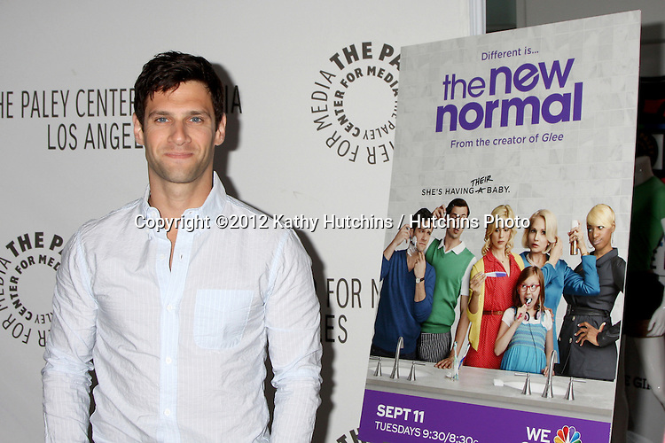 "LOS ANGELES - SEP 5:  Justin Bartha arrives at """"The New Normal"" Fall TV Preview at Paley Center on September 5, 2012 in Beverly Hills, CA"
