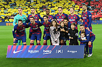 Barcellona Line Up Formazione <br /> 18/12/2019 <br /> Barcelona - Real Madrid<br /> Calcio La Liga 2019/2020 <br /> Photo Paco Largo Panoramic/insidefoto <br /> ITALY ONLY