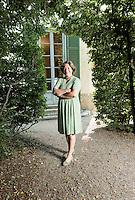 Giuseppina Caccia Panza, Daughter of Count Giuseppe Panza di Biumo, Villa Menafoglio Litta Panza, Varese