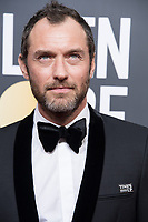 Nominated for BEST PERFORMANCE BY AN ACTOR IN A LIMITED SERIES OR A MOTION PICTURE MADE FOR TELEVISION for his role in &quot;The Young Pope,&quot; actor Jude Law attends the 75th Annual Golden Globes Awards at the Beverly Hilton in Beverly Hills, CA on Sunday, January 7, 2018.<br /> *Editorial Use Only*<br /> CAP/PLF/HFPA<br /> &copy;HFPA/PLF/Capital Pictures