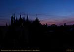 Bruges Dawn Skyline, Town Hall Stadhuis and Burg Square Towers, Bruges, Brugge, Belgium