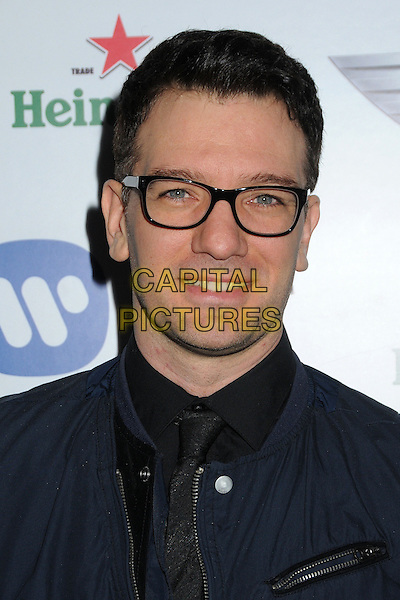 JC Chasez.Warner Music Group 2013 Grammy Celebration held at The Chateau Marmont, West Hollywood, California, USA..February 10th, 2013.headshot portrait glasses blue black.CAP/ADM/BP.©Byron Purvis/AdMedia/Capital Pictures.