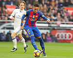 03.12.2016 Barcelona. La Liga. Picture show Neymar in action during game between Fc Barcelona against Real Madrid at Camp Nou