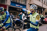 fueling up at the start while you still can; extra sugars needed against the elements<br /> <br /> Trofeo Lloseta - Andratx: 140km<br /> 27th Challenge Ciclista Mallorca 2018