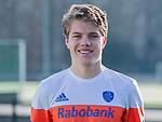 UTRECHT - Derck de Vilder  speler Nederlands Hockey Team heren. COPYRIGHT KOEN SUYK