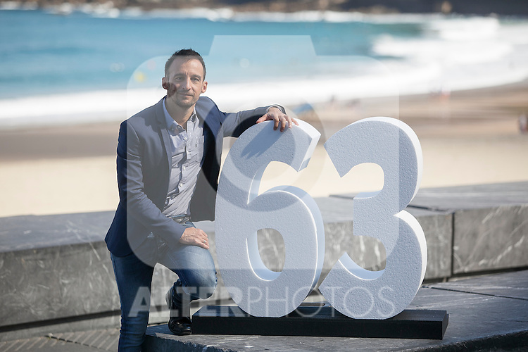 Spanish movie director Alejandro Amenabar poses during `Regression´ film presentation at 63rd Donostia Zinemaldia (San Sebastian International Film Festival) in San Sebastian, Spain. September 18, 2015. (ALTERPHOTOS/Victor Blanco)