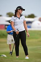 Katherine Perry (USA) watches her putt on 9 during the round 2 of the Volunteers of America Texas Classic, the Old American Golf Club, The Colony, Texas, USA. 10/4/2019.<br /> Picture: Golffile | Ken Murray<br /> <br /> <br /> All photo usage must carry mandatory copyright credit (© Golffile | Ken Murray)