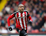 Leon Clarke of Sheffield Utd during the English League One match at Bramall Lane Stadium, Sheffield. Picture date: April 17th 2017. Pic credit should read: Simon Bellis/Sportimage
