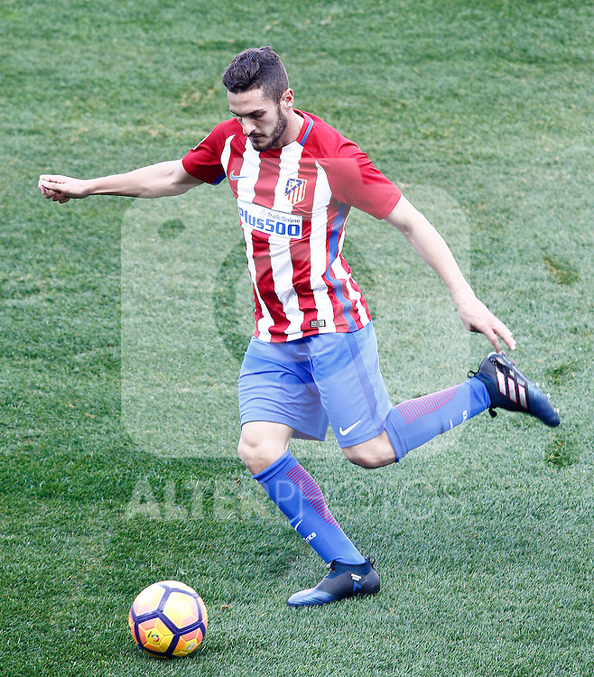 Atletico de Madrid's Koke Resurrecccion during La Liga match. February 26,2017. (ALTERPHOTOS/Acero)