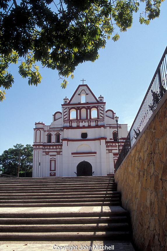 The Templo de Santa Domingo de Guzman in Chiapa de Corzo, Chiapas, Mexico
