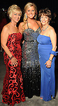 From left: Linda Slaton, Lindsey Denke and Diane Melia Sternenberg at the San Luis Salute hosted by Paige and Tilman Fertitta in Galveston Friday Feb. 12,2010.(Dave Rossman Photo)