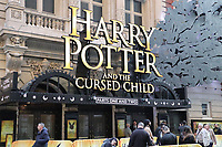 Harry Potter and the cursed child im Lyric Theatre am Broadway in Manhattan - 11.04.2018: Sightseeing in New York