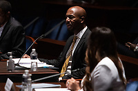 "Georgetown Law Prof. Paul Butler, testifies during a House Judiciary Committee hearing on ""Policing Practices and Law Enforcement Accountability"", on Capitol Hill, in Washington D.C., Wednesday, June 10, 2020.<br /> Credit: Graeme Jennings / Pool via CNP/AdMedia"