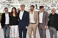 CANNES, FRANCE - MAY 13: (L-R) Producer Samanta Gandolfi Branca, Donata Wenders, director Wim Wenders at the photocall for 'Pope Francis - A Man Of His Word' during the 71st annual Cannes Film Festival at Palais des Festivals on May 13, 2018 in Cannes, France.<br /> CAP/PL<br /> &copy;Phil Loftus/Capital Pictures