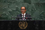 General Assembly Seventy-fourth session<br /> <br /> <br /> <br /> His Excellency Dionisio da Costa Babo SOARESMinister for Foreign Affairs and Cooperation of Timor-Leste