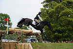 6th May 2017, Lydia Hannon riding My Royal Touch during the Cross Country phase of the 2017 Mitsubishi Motors Badminton Horse Trials, Badminton House, Bristol, United Kingdom. Jonathan Clarke/JPC Images