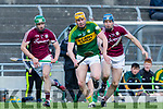 Kerry's Brendan O'Leary in the Allianz Hurling League Division 1B KERRY V  GALWAY at Austin Stack Park, Tralee on Sunday