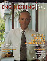 Mitch Daniels, Gov. of Indiana