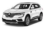 2020 Renault Koleos Initiale Paris 5 Door SUV angular front stock photos of front three quarter view