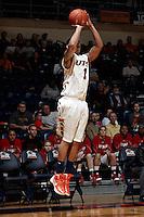 SAN ANTONIO, TX - NOVEMBER 26, 2011: The Pepperdine University Waves vs. The University of Texas at San Antonio Roadrunners Men's Basketball at the UTSA Convocation Center. (Photo by Jeff Huehn)
