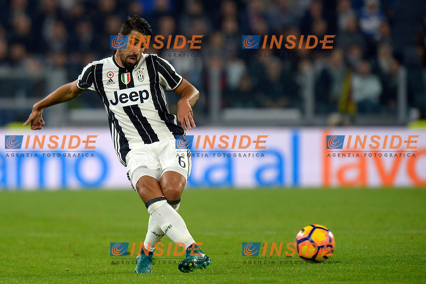 Sami Khedira Juventus <br /> Torino 29-10-2016 Juventus Stadium Football Calcio Serie A 2016/2017 Juventus - Napoli . Foto Filippo Alfero Insidefoto