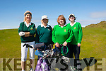 Fairway<br /> ----------<br /> Taking part in the Ladies Challenge cup at Ballybunion golf club last Saturday morning were L-R Eileen Breen&amp;Margaret O'Sullivan (Dooks GC) with Angela Deehinan&amp;Fiona Lally (Tralee GC)