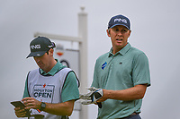 Seamus Power (IRL) looks over his tee shot on 10 during round 4 of the 2019 Houston Open, Golf Club of Houston, Houston, Texas, USA. 10/13/2019.<br /> Picture Ken Murray / Golffile.ie<br /> <br /> All photo usage must carry mandatory copyright credit (© Golffile | Ken Murray)