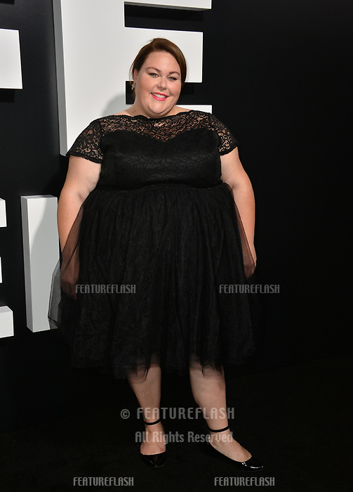 LOS ANGELES, CA. September 13, 2018: Chrissy Metz at the premiere for &quot;Life Itself&quot; at the Cinerama Dome.<br /> Picture: Paul Smith/Featureflash