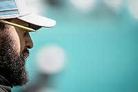 MIAMI, FL, 21.10.2018 – DOLPHINS-LIONS – Treinador Matt Patricia do Lions, durante partida válida pela sétima semana da temporada regular da NFL, no Hard Rock Stadium, na tarde deste domingo (21).  (Foto: Jayson Braga / Brazil Photo Press)