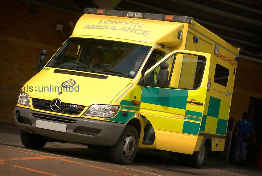 A London ambulance. Royalty Free