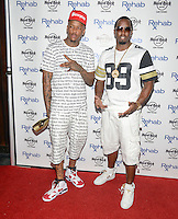 LAS VEGAS, NV - May 25: YG and Puff Daddy at Memorial Day Weekend at Rehab at the Hard Rock Hotel on May 25, 2014 in Las Vegas, Nevada. © GDP Photos/ Starlitepics
