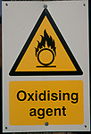 A912K7 Warning sign for Oxidising agent