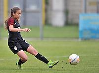 Monfalcone, Italy, April 26, 2016.<br /> USA's #20 Yates scores the goal of 2-0 during USA v Iran football match at Gradisca Tournament of Nations (women's tournament). Monfalcone's stadium.<br /> &copy; ph Simone Ferraro / Isiphotos