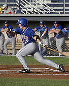 July 16, 2004:  Aaron Mathews of the Auburn Doubledays, Short-Season Single-A affiliate of the Toronto Blue Jays, during a game at Dwyer Stadium in Batavia, NY.  Photo by:  Mike Janes/Four Seam Images