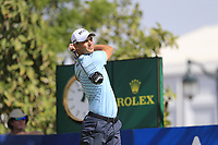 Martin Kaymer (GER) on the 14th tee during the 2nd round of the DP World Tour Championship, Jumeirah Golf Estates, Dubai, United Arab Emirates. 16/11/2018<br /> Picture: Golffile | Fran Caffrey<br /> <br /> <br /> All photo usage must carry mandatory copyright credit (© Golffile | Fran Caffrey)